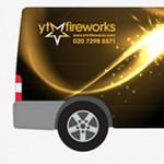 Fireworks Van Graphics Template