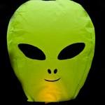 Alien Sky Lantern