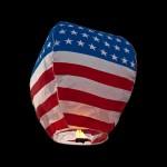 USA Sky Lanterns